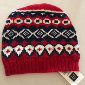 NEW BABY GAP INFANT HAT 6 12 MONTHS